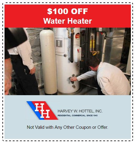 Water Heater Specials and Coupons in Gaithersburg