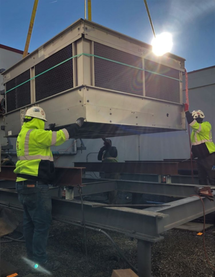 Installing Cooling Towers