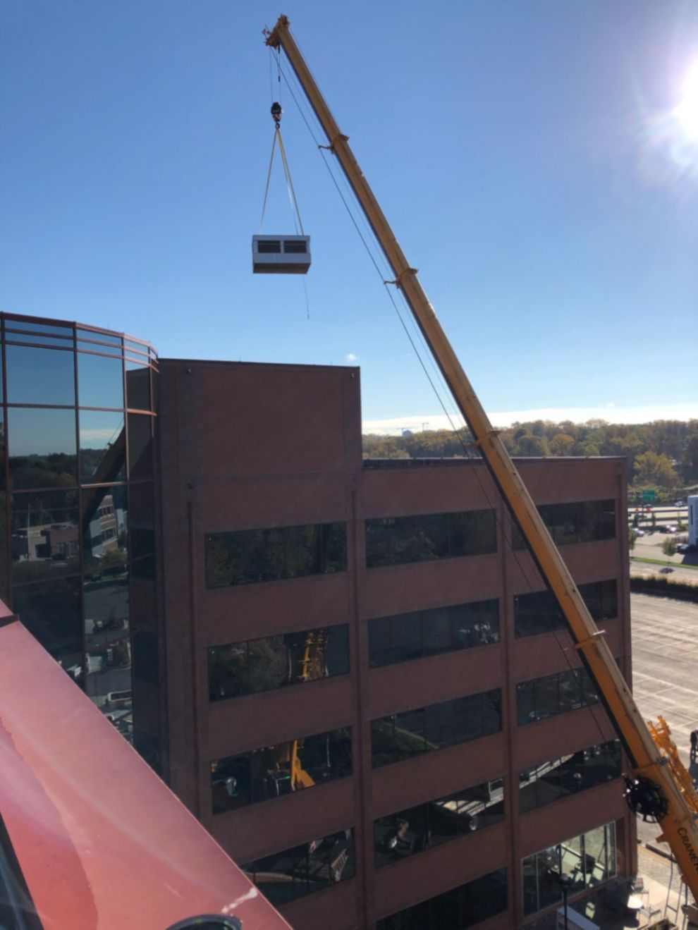 Replacement of Cooling Towers